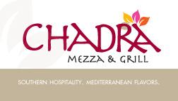 Chadra Mezza Gift Card
